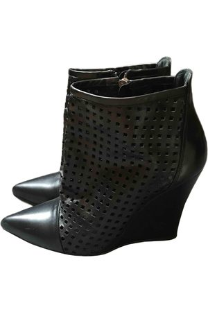 Sandro \N Leather Ankle boots for Women