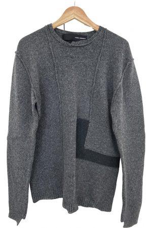 ISABEL BENENATO Grey Wool Knitwear & Sweatshirts