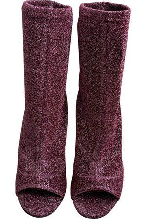 Aquazzura \N Glitter Ankle boots for Women