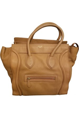 Céline Luggage Leather Handbag for Women