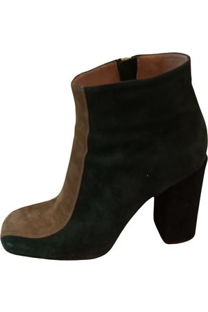Marni \N Suede Ankle boots for Women