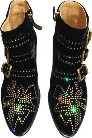 Chloé Susanna Velvet Ankle boots for Women