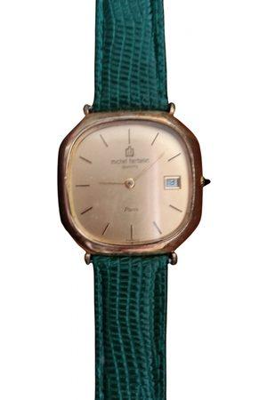 Michel Herbelin \N plated Watch for Women