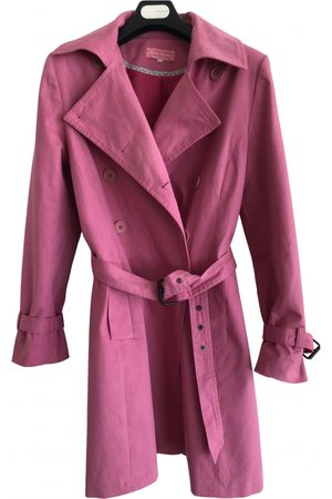 Galeries Lafayette \N Cotton Trench Coat for Women
