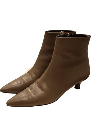 The Row \N Leather Ankle boots for Women
