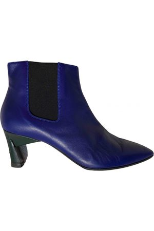 Marni \N Leather Ankle boots for Women