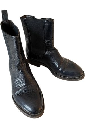 Brunello Cucinelli \N Patent leather Ankle boots for Women