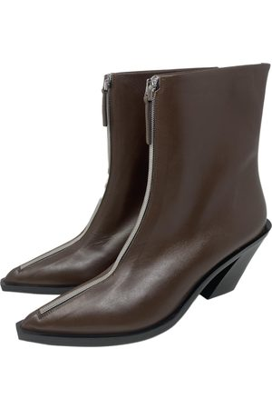 Elleme \N Leather Ankle boots for Women