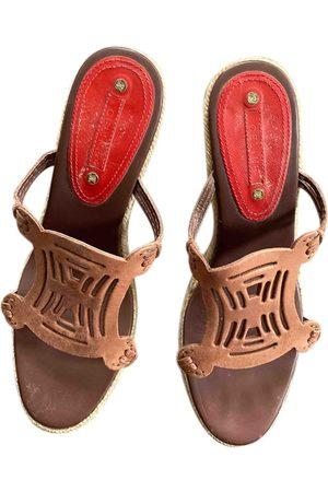 Céline \N Leather Espadrilles for Women