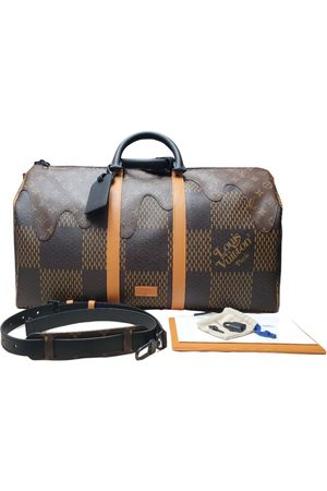 Louis Vuitton X Nigo \N Cloth Bag for Men