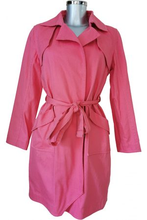 Alexis Mabille Cotton Trench Coats
