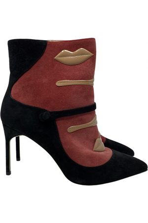GIANNICO \N Suede Ankle boots for Women