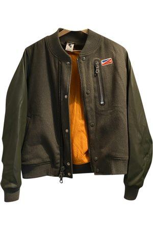 Riccardo Tisci Khaki Wool Jackets