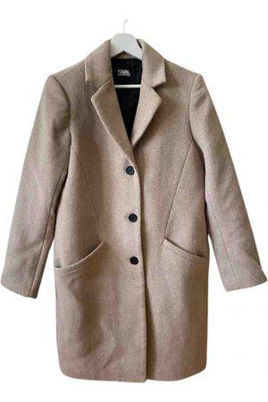 Karl Lagerfeld \N Wool Coat for Women