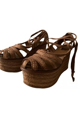 Bottega Veneta \N Leather Espadrilles for Women