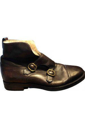 Fratelli Rossetti Women Ankle Boots - \N Leather Ankle boots for Women