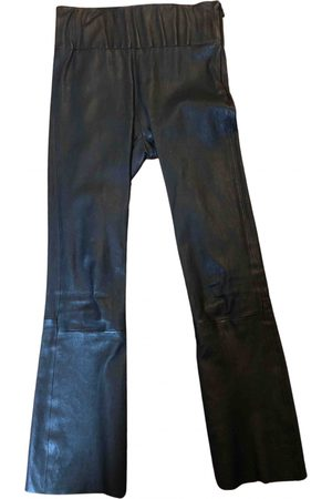 SPRWMN \N Leather Trousers for Women