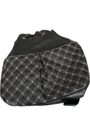 Braun büffel \N Leather Backpack for Women