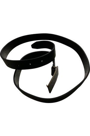 Agnès B. Leather Belts