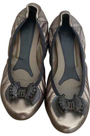 Marni Women Ballerinas - \N Leather Ballet flats for Women