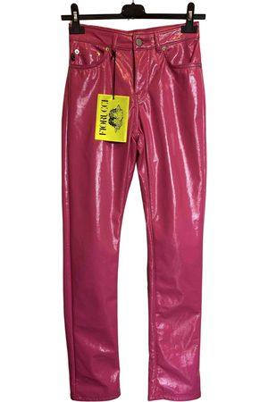 Fiorucci Leather Trousers