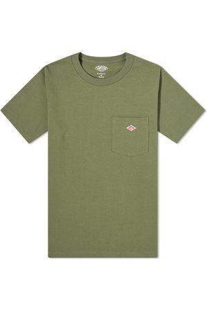 DANTON Men T-shirts - Crew Neck Pocket Tee