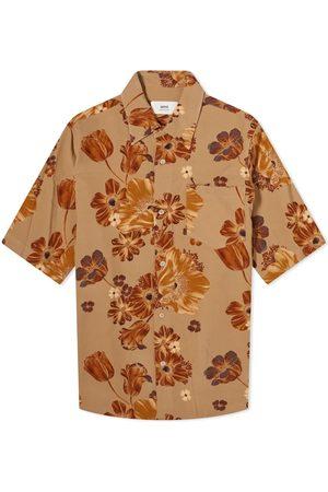 Ami Men Short sleeves - Short Sleeve Floral Print Shirt