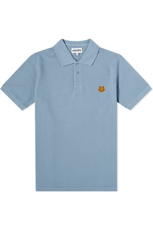 Kenzo Men Polo Shirts - Tiger Crest Polo