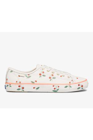 Keds Women Sneakers - X Rifle Paper Co. Kickstart Mini Strawberries , Size 5m Women's Shoes