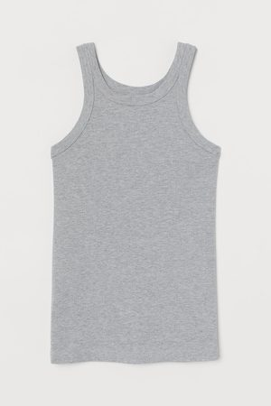H&M Women Tank Tops - Ribbed Tank Top