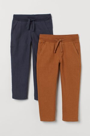 H&M 2-pack Linen-blend Chinos