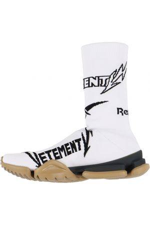 Vetements Men Sneakers - \N Cloth Trainers for Men