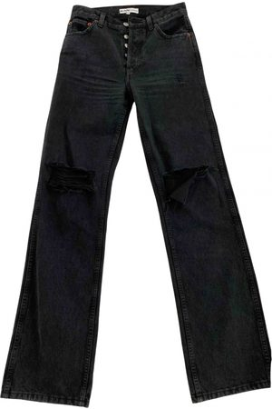 RE/DONE Anthracite Denim - Jeans Jeans