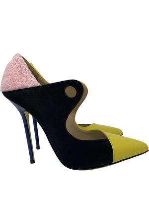 GIANNICO Women High Heels - \N Leather Heels for Women