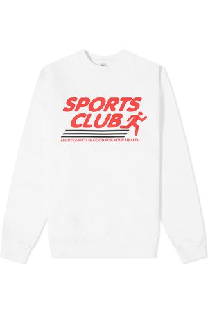 Sporty & Rich Men Sports Equipment - Sports Club Crew Sweat