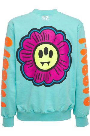 BARROW Men Sweatshirts - Cotton Flower Logo Printed Sweatshirt