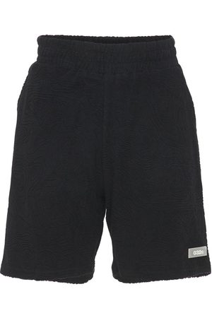 032c Men Shorts - Topos Shaved Cotton Terry Shorts
