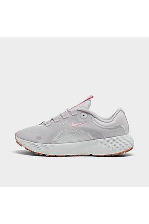 Nike Women's React Escape Run Running Shoes in Grey/Vast Grey Size 5.5