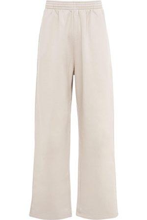 Balenciaga Men Sweatpants - Baggy Cotton Jersey Sweatpants