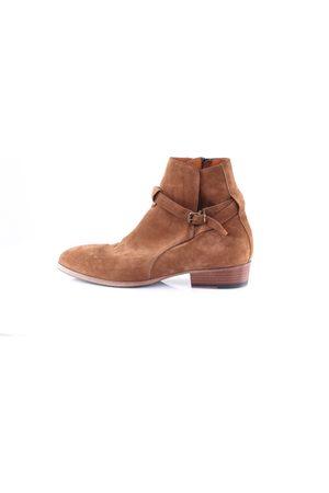 Pawelk's Men Boots - Boots Men Cookie