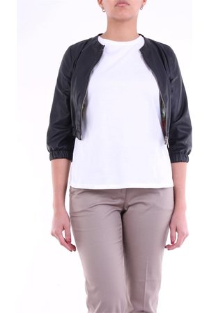 EMANUELE CURCI Leather jackets Women