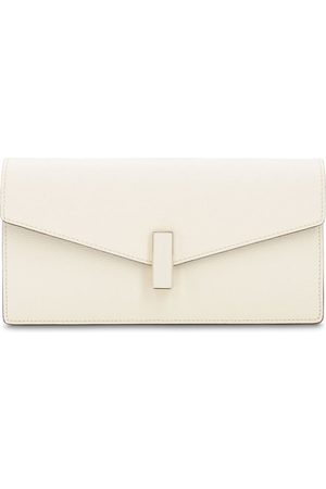 VALEXTRA Women Clutches - Iside Grained Leather Clutch