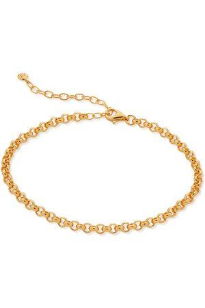 Monica Vinader Bracelets - Gold Vintage Chain Bracelet