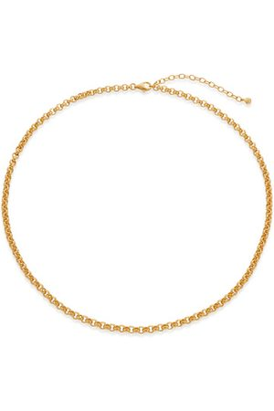 Monica Vinader Necklaces - Gold Vintage Choker Necklace 15-17""