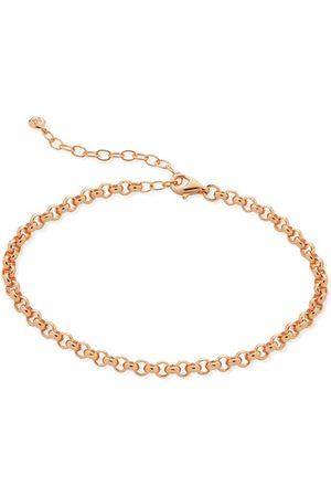 Monica Vinader Bracelets - Rose Gold Vintage Chain Bracelet