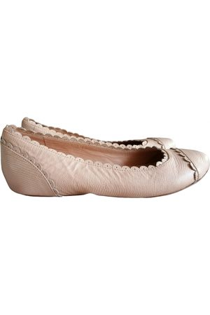 Chloé \N Leather Ballet flats for Women