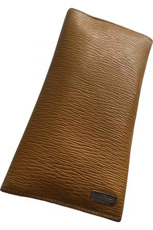 Salvatore Ferragamo \N Leather Small Bag, Wallet & cases for Men