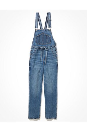 American Eagle Outfitters 90s Baggy Denim Overall Women's XS
