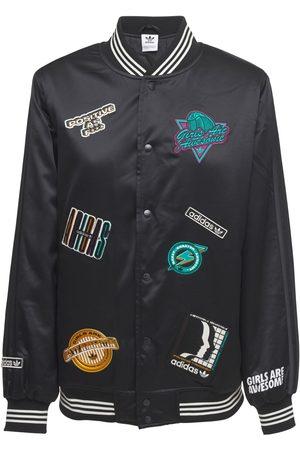adidas Women Jackets - Varsity Jacket