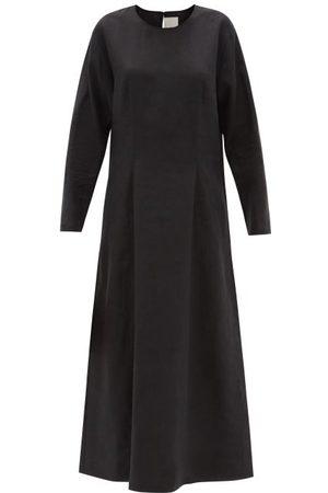ASCENO Jody Organic-linen Maxi Dress - Womens